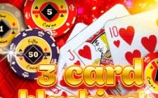 Игровой автомат 3 Card Blackjack
